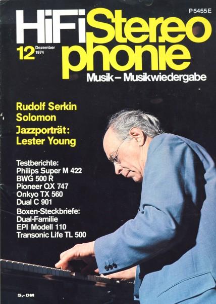 Hifi Stereophonie_12/1974 Zeitschrift_1