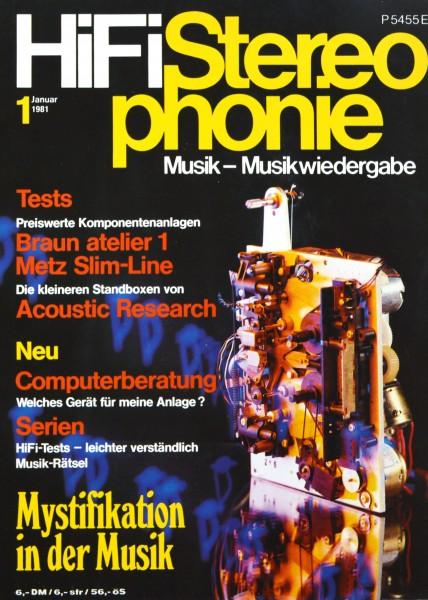 Hifi Stereophonie_1/1981 Zeitschrift_1