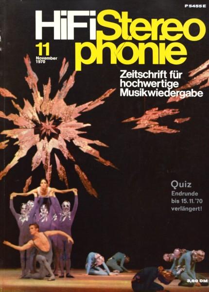 Hifi Stereophonie_11/1970 Zeitschrift_1