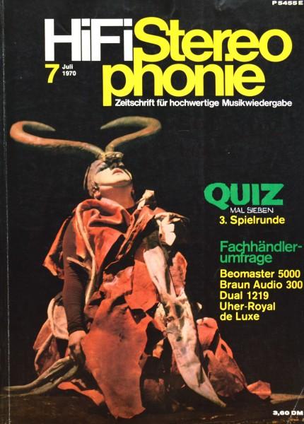 Hifi Stereophonie_7/1970 Zeitschrift_1