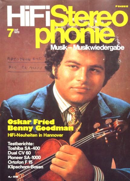 Hifi Stereophonie_7/1972 Zeitschrift_1