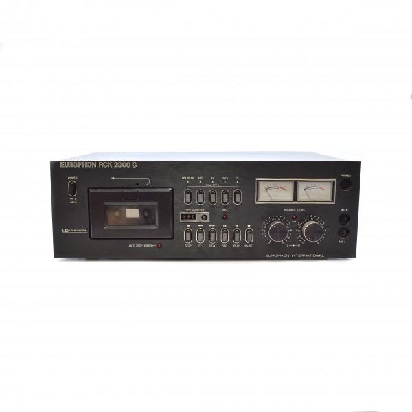 Europhon_RCK 2000 C Tapedeck_1