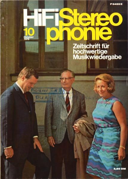 Hifi Stereophonie_10/1970 Zeitschrift_1