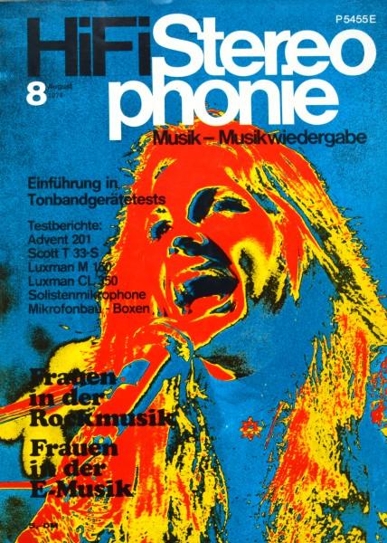 Hifi Stereophonie_8/1974 Zeitschrift_1