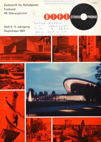 Hifi Stereophonie_9/1967 Zeitschrift_1