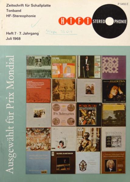 Hifi Stereophonie_7/1968 Zeitschrift_1