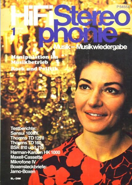 Hifi Stereophonie_1/1974 Zeitschrift_1