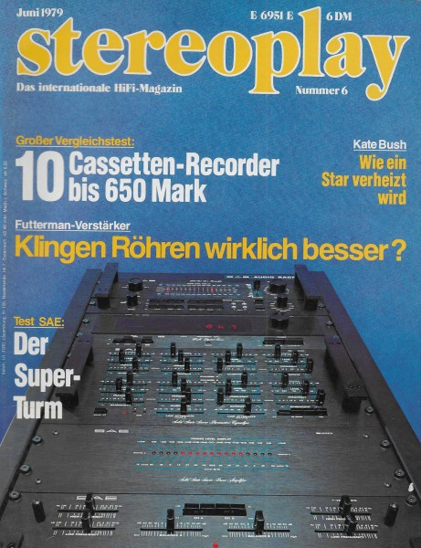 Stereoplay 6/1979 Cover