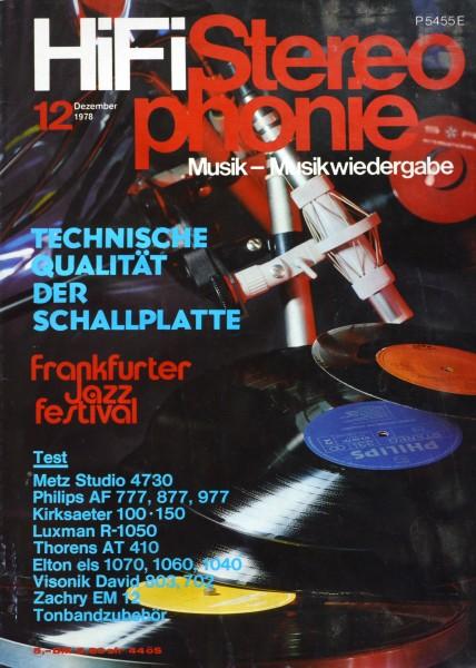 Hifi Stereophonie_12/1978 Zeitschrift_1