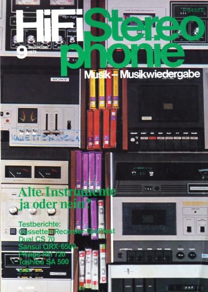 Hifi Stereophonie_9/1973 Zeitschrift_1