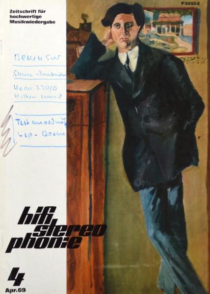 Hifi Stereophonie_4/1969 Zeitschrift_1