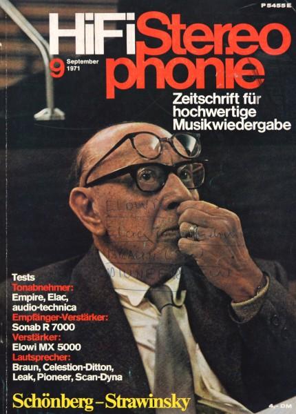 Hifi Stereophonie_9/1971 Zeitschrift_1