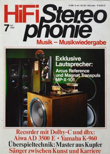 Hifi Stereophonie_7/1982 Zeitschrift_1