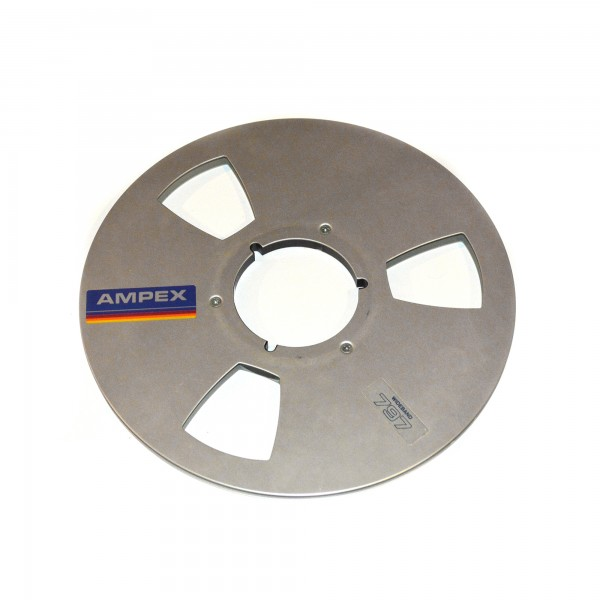Ampex 267 mm Metall-Leerspule