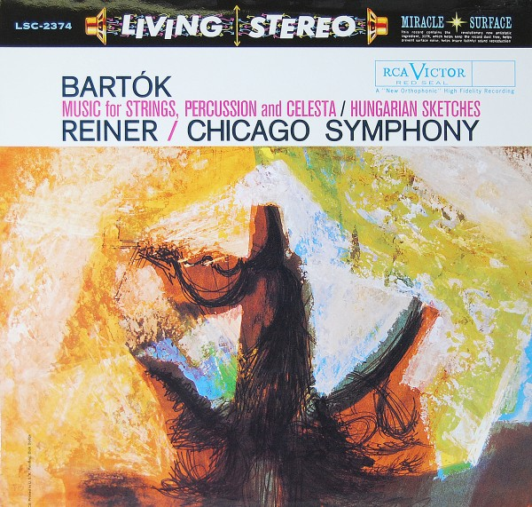 Bartók/Chicago Symphony/Reiner - Hungarian Sketches - Music for Strings Percussion and Celesta
