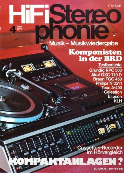 Hifi Stereophonie_4/1977 Zeitschrift_1