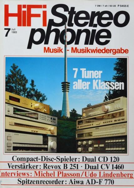 Hifi Stereophonie_7/1983 Zeitschrift_1