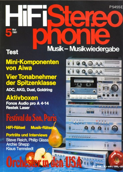 Hifi Stereophonie_5/1981 Zeitschrift_1