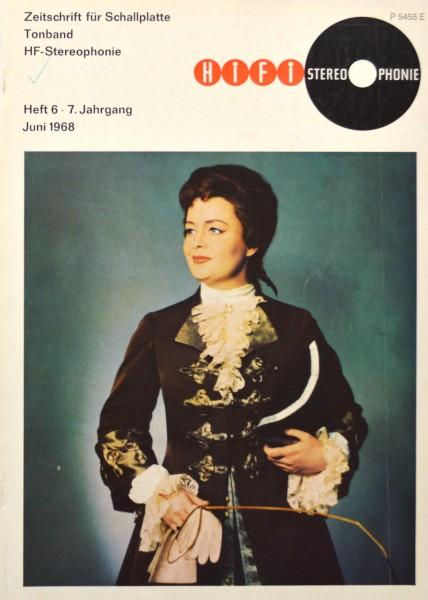 Hifi Stereophonie_6/1968 Zeitschrift_1