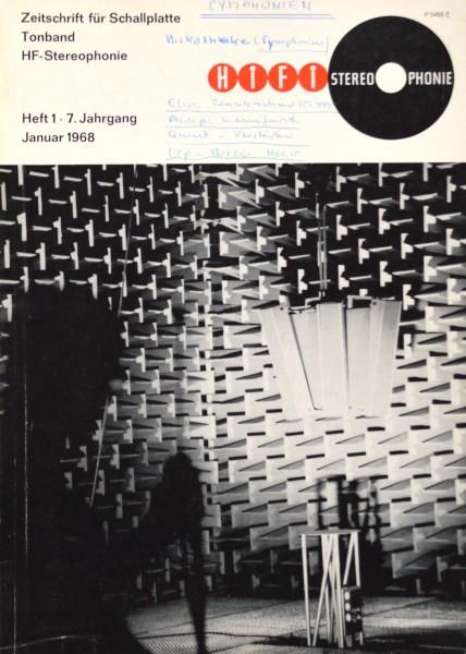 Hifi Stereophonie_1/1968 Zeitschrift_1