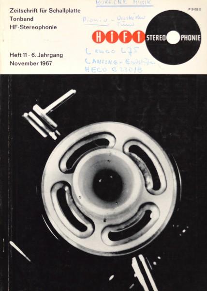 Hifi Stereophonie_11/1967 Zeitschrift_1