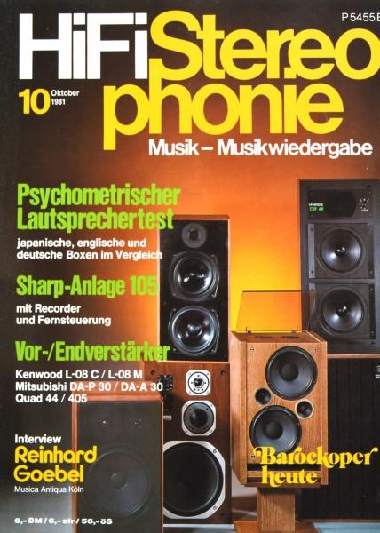 Hifi Stereophonie_10/1981 Zeitschrift_1