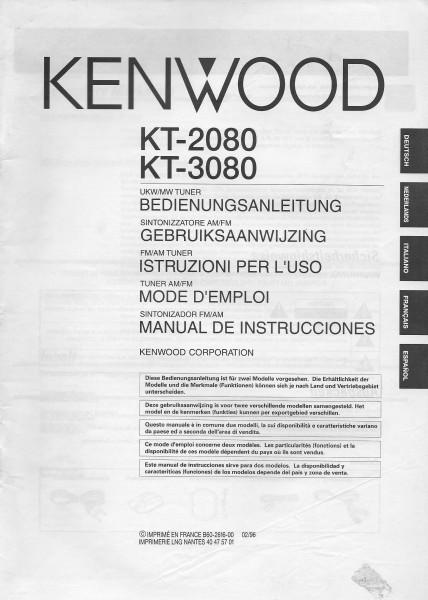 Kenwood KT-2080 / KT-3080 Bedienungsanleitung