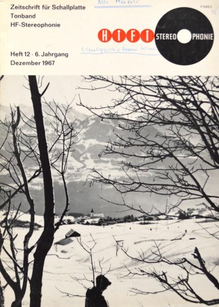 Hifi Stereophonie_12/1967 Zeitschrift_1
