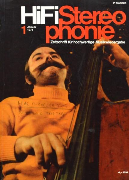 Hifi Stereophonie_1/1971 Zeitschrift_1