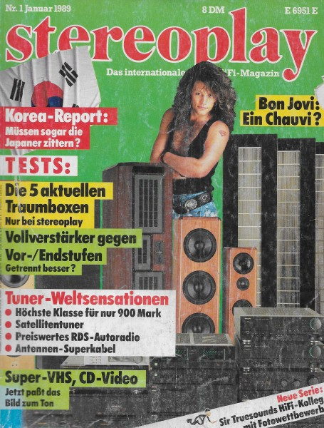 Stereoplay 1/1989 Cover