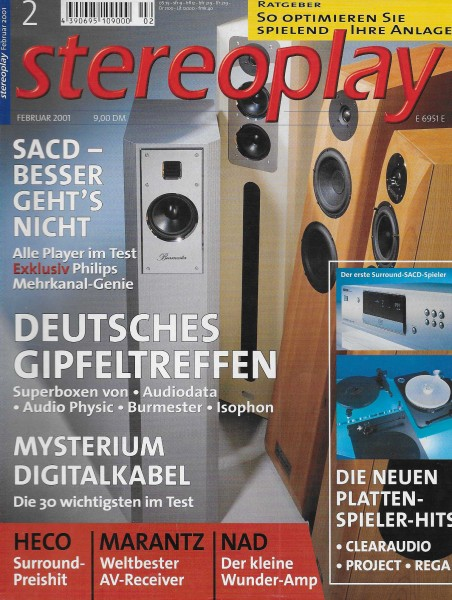 Stereoplay 2/2001 Cover