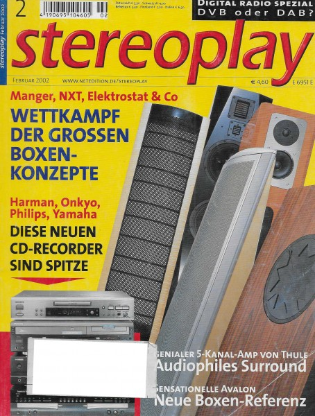 Stereoplay 2/2002 Cover