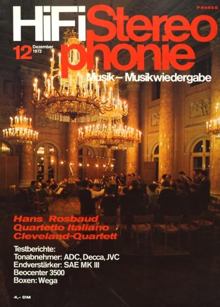 Hifi Stereophonie_12/1972 Zeitschrift_1