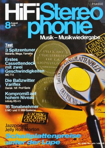 Hifi Stereophonie_8/1979 Zeitschrift_1