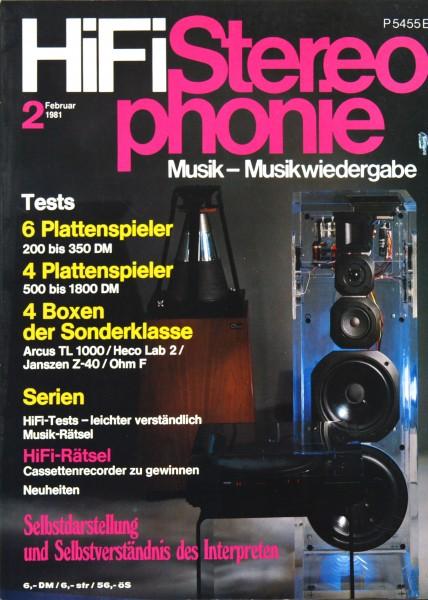 Hifi Stereophonie_2/1981 Zeitschrift_1