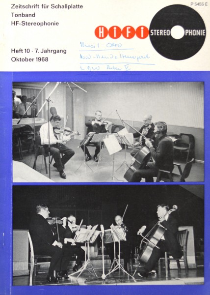 Hifi Stereophonie_10/1968 Zeitschrift_1