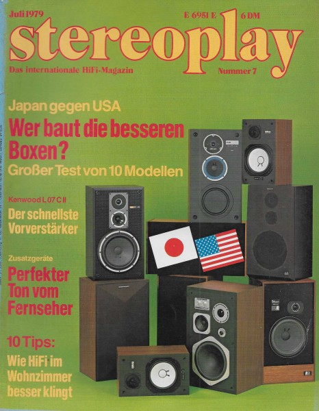 Stereoplay 7/1979 Cover