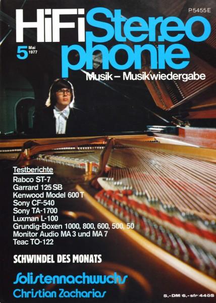 Hifi Stereophonie_5/1977 Zeitschrift_1