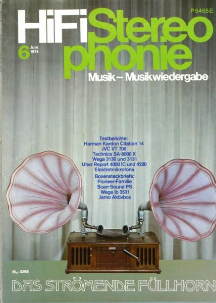 Hifi Stereophonie_6/1974 Zeitschrift_1