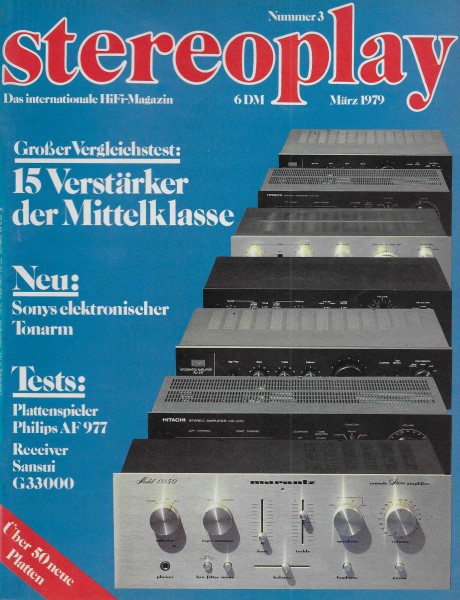 Stereoplay 3/1979 Cover