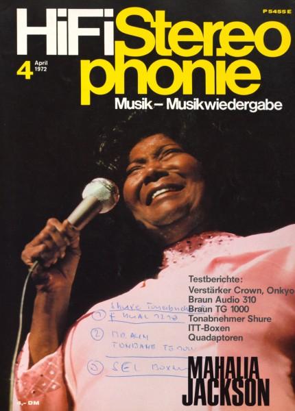 Hifi Stereophonie_4/1972 Zeitschrift_1