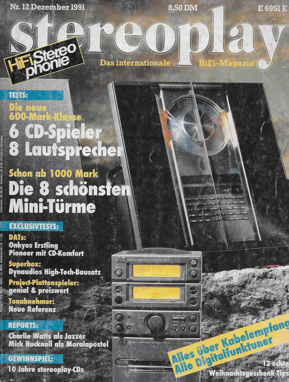 Stereoplay 12/1991 Zeitschrift | Stereoplay | Zeitschriften | Hifi ...