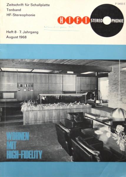 Hifi Stereophonie_8/1968 Zeitschrift_1