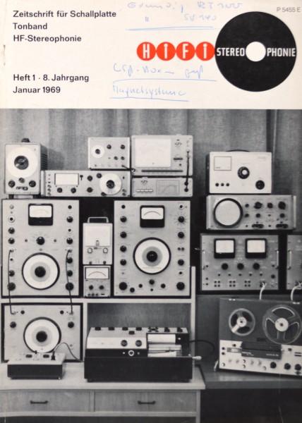 Hifi Stereophonie_1/1969 Zeitschrift_1