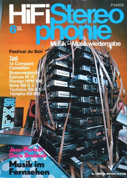 Hifi Stereophonie_6/1978 Zeitschrift_1