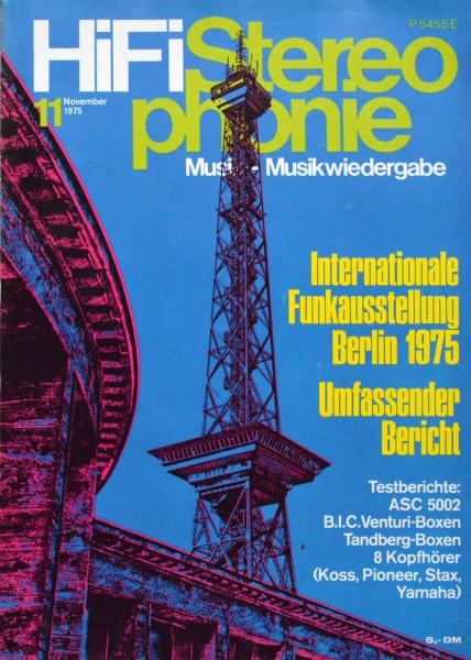 Hifi Stereophonie_11/1975 Zeitschrift_1