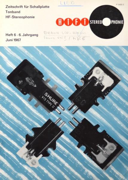 Hifi Stereophonie_6/1967 Zeitschrift_1