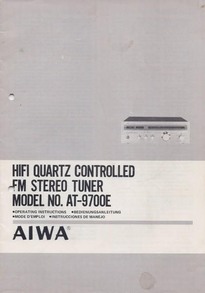 Aiwa AT-9700E Bedienungsanleitung