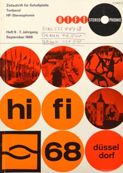 Hifi Stereophonie_9/1968 Zeitschrift_1