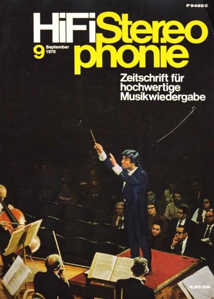 Hifi Stereophonie_9/1970 Zeitschrift_1